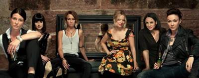 Drei beste Freunde Lesbisch